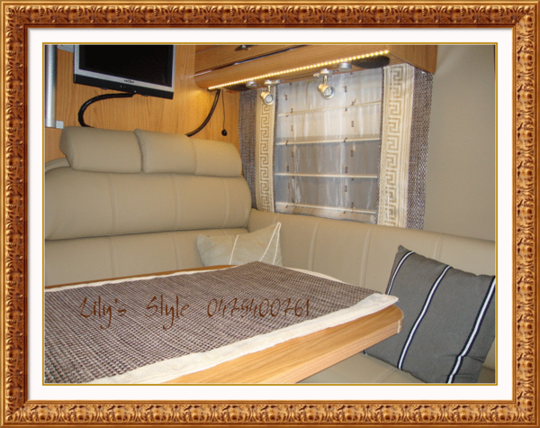 Caravan Kussens Bekleden : Bekleden van mobilhome caravan motorhome caravankussens