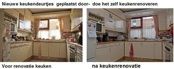 Keuken Renovatie Amsterdam : huis keuken renovatie met nieuwe keukendeurtjes – Vakman Pagina
