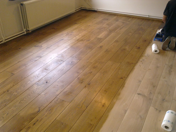 Uniek complete eiken houten vloer goedkoop incl leggen vakman